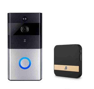 Camera 2020 New Inteligente de Vídeo IP Intercom WIFI vídeo porteiro campainha de alarme WIFI Doorbell Camera Para Apartments IR Wireless Security