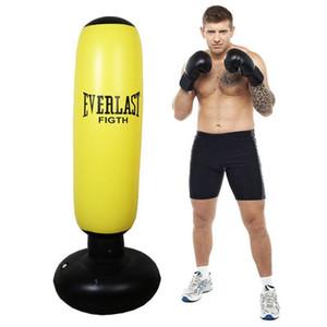 نفخ الملاكمة كيس من البلاستيك سماكة الملاكمة عمود البهلوان العمود حارب الضرب برج الثقيلة حقيبة حقيبة للياقة البدنية اكسسوارات الكبار