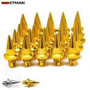 EPMAN -25pcs / lot plastica Spike ruota rivetti per Cerchioni Cap Lip Vite Vite Pneumatici EPAS056G