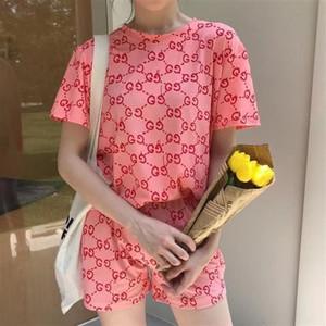"""2020 nouvelle coréenne summerT instagram fille T-shirt à manches courtes et les femmes """"blouse bestie lâche s d'été"""