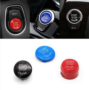 Araba Motoru BAŞLAT Düğmesi Kapak Anahtarı Aksesuarları Değiştirin Anahtar Dekor BMW için Fit X1 X5 E70 F30 X6 E71 Z4 E89 3 5 Serisi E90 E60 X1 X3 X ...