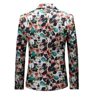 Wunsch AliExpress Männer neue Art-Printed Anzug