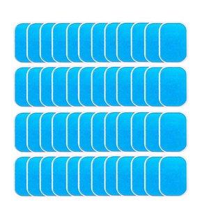 40pcs Abs Stimulateur Entraîneur de remplacement Gel Sheet tonification abdominale Ceinture musculaire Accessoires Ab Toner formateur