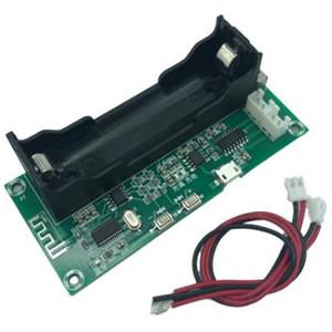 2 шт. / лот XH-A153 литиевая батарея Bluetooth усилитель мощности доска двухканальный низкая мощность самодельный DIY ручной Активный динамик 5 Вт + 5 Вт