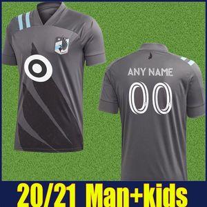 MLS 2020 FC Minnesota United Soccer Jersey METANIRE AMARILLA Opara football Chemises adultes mens Minnesota United Soccer uniformes enfants Kit 20/21