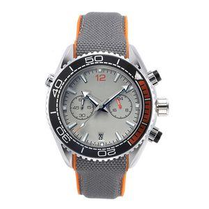 Operando nuevos relojes cronómetro para hombre Relojes de pulsera Geniales impermeables del cuarzo del calendario de visita de moda de los hombres del reloj del regalo