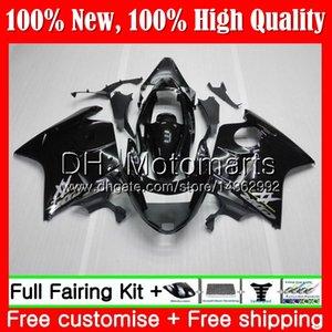 Fairing Bodywork 광택 블랙 HONDA 블랙 버드 CBR1100XX 96 97 98 99 00 01 53MT CBR1100 XX CBR 1100XX 1996 1997 1998 1999 2000 2001 키트