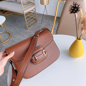Che ristabilisce grano stuzzicadenti singola spalla borse crossbody pacchetto po 'di cavalli Classic grande capacità della borsa borse moda