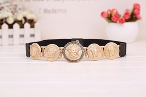 2020 New Wedding Bridal Belt Women elastic waistband Decorative Retro belt Prom Party Evening Bridesmaid Sashes