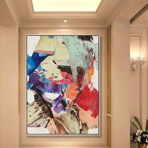 -.37-подставил Unframed Mintura Аннотация Home Decor расписанную HD Печать Картина маслом на холсте Wall Art Холст Pictures