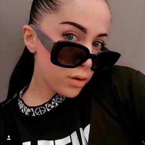 Дизайнерские солнцезащитные очки - новые очки 2020 для женщин моды солнцезащитные очки люкс очки большой ящик классический с коробкой