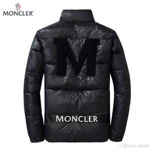 19FW дизайн мужская куртка бренды вниз пальто ветровка зимние куртки согреться роскошные молнии толстовки лоскутное Спорт повседневная мода парки U8