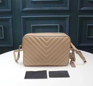 kapitone deri, moda tasarımcısı zincir torbası, lüks kadın eğimli açıklık torbasında 2020 tasarımcı Lou kamera çantası, 23 * 16 * 6cm