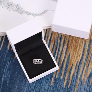 drill simulação anel de diamante incrustado de luxo high-end personalizado atmosfera luo orvalho completa anel de diamante V ouro Seiko