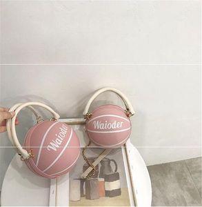 High Quality Genuine Leather Women Handbags Famous Basketball Shoulder Bag Lady Saddle Bag 498110 #22529