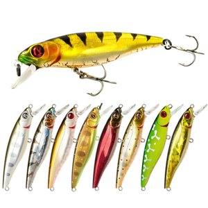 1pc Minnow Pêche Lure 8.5cm 9G dur appâts artificiels basse Pike Wobbler Jerkbait Pesca Crankbait Saltwater Fishing Tackle DKoPA