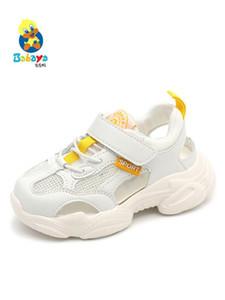 sandálias meninos quadro sapatos meninas sapatos brancos babaya infantis antigos malha respirável de verão 2020 nova