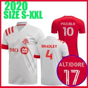 2020 Toronto FC Soccer Jerseys 2021 17 ALTIDORE 10 POZUELO Soccer Shirt 20 21 Toronto MORROW BRADLEY away Unity Football shirts Uniform