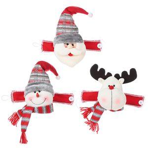 Porte-Buckle rideau de Noël Ornements Cartoon Père Noël Bonhomme de neige Elk rideau Embrasse Décoration intérieure Rideaux Décoration de Noël JK1910