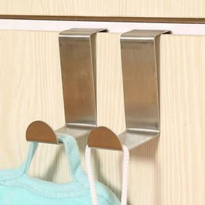 باب الملابس الشماعات هوك قيادة هوك رف معلق معطف السنانير الفولاذ المقاوم للصدأ