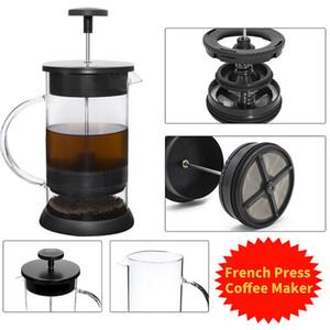 Pot café de aço inoxidável 1000ML Cafeteira French Press Com Filtro Processo Double Wall Isolamento Projeto polonês Pot Cup
