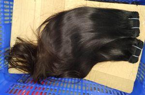 donatore singolo 1 fascio di Non-Remy non trasformati 12A asiatico Vietnamita raddoppia i capelli tirati dritti cuticola allineato intrecci
