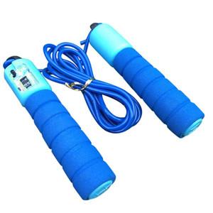 Salto corde con conteggio Adult Children Jump Rope Skipping Lunghezza registrabile Sport Fitness di conteggio automatico Skip Rope # 15