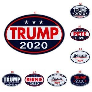 TRUMP Bernie 2020 Pattern Trump наклейки Unite Государственных Президентские выборы Стиль холодильник магниты Мульти Стили наклейка