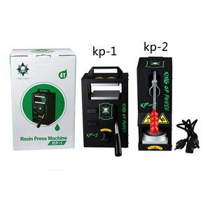 Original LTQ Vapor Rosin-Presse-Maschine KP-1 KP-2 King of Power Druck auf Clamp Heizung Tragbare Wachs Dry Kraut DIY Tool Kit
