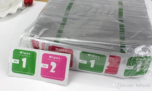 Dry Wet Wipes For Mobile Phone Tempered Glass Screen Protectors Accessories Alcohol Pad Cleaning Cloth Dust Absorber