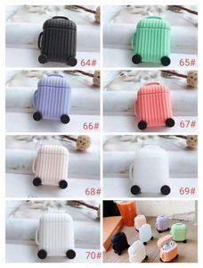 79 style protecteur en silicone pour Airpods Silicone Case carton doux ultra mince protecteur pochette housse pour Airpods Ecouteur Cas