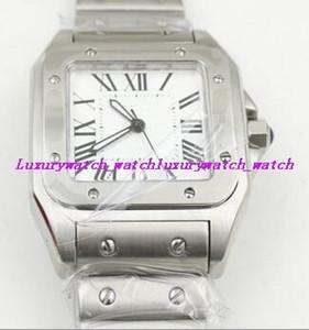 Montre unisexe Montre-bracelet WSSA0010 Moyen 40mm Automatique Cadran blanc Bracelet en acier inoxydable Montre Luxe Livraison gratuite