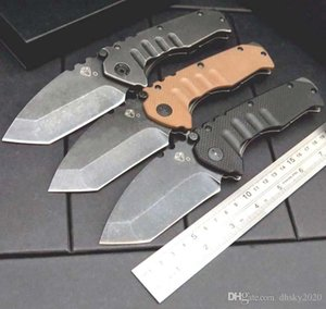 2020 Medford Nocturne Tasche Klappmesser 9cr18mov Klinge Steinwäsche Stahlgriff Griff Selbstverteidigung taktische edc Geschenk Messer überleben