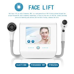 Radiofréquence thermique Lift Cool Skin Cryo visage Soins de la peau machine usage domestique Face Lift RF Skin Rejuvenation machine