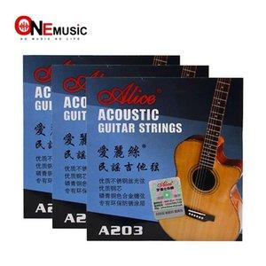 Высокое качество Алиса A203 (011-052) Фолкнула гитару Набор строки Оптовой