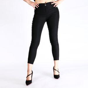 Горячие сексуальные женщины Butt Lift Pants колумбийские Бразильский стиль Эластичный леггинсы Карандаш Тонкий джинсы Тонкий Capris Брюки