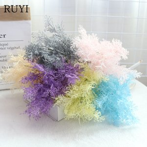 RUYI 35cm artificial Rime flower material Christmas wedding decor dream wedding scene layout flower party home decoration 1pc