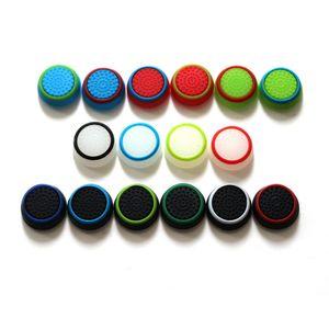 Dual Color Silikon Joystick Cap Thumb Grip-Stick Griffe Caps Fall für PS4 PS3 Xbox 360 ein WiiU-Controller