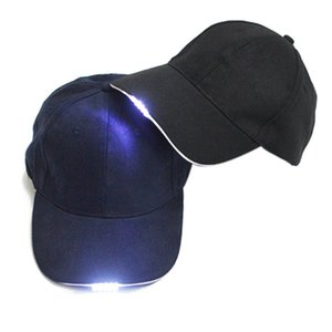 Outdoor Solid Caps Night LED Flashlight Fishing Hunting Hats Walking Hat Cycling Clothes