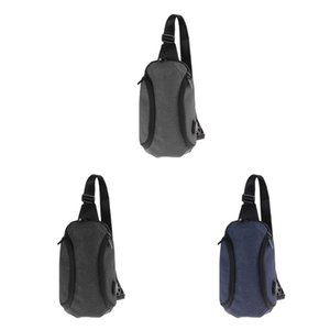 3× Travel Backpacks Small Shoulder Bags Cross Body Sling Bags Fashion Chest Bags with USB Charging Port For Teens Adults Outdoor Hiking