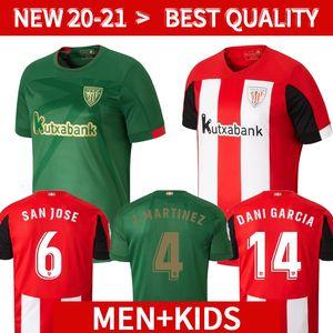 2020 2021 jérsei de futebol Bilbao WILLIAMS MUNIAIN Aduriz kits crianças de futebol 19 futebol camisas 20 I.MARTINEZ crianças camisa de Futebol