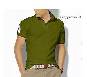 Italia Camiseta de los hombres nueva primavera de lujo de diseño Polos Calle bordado caballo gran cocodrilo de impresión Ropa hombre del polo yy1