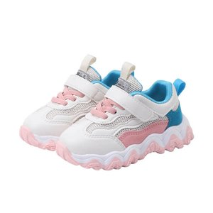 Hot sale toddler shoes kids shoes baby shoes toddler boy shoe toddler sneakers girls trainers boys trainers boys sneakers retail B1050