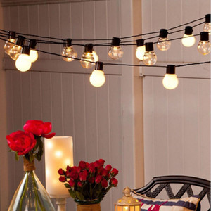 110v 220v 6m 20 led wedding string friendy light Christmas LED Globe festoon blup led fairy string light outdoor party garden garland
