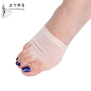 Hohe Elastische Professionelle Bauch / Ballett Dance Toe Pad Praxis Unterwäsche Halb Lyrische Schuhe Schutz Dance Socken Kostüme BX0907