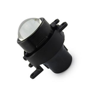 Parachoques delantero faro halógeno LED escondido H8 H9 foco bombilla conjunto de lente de luz antiniebla de viga alta baja para TOYOTA LAND CRUISER PRADO