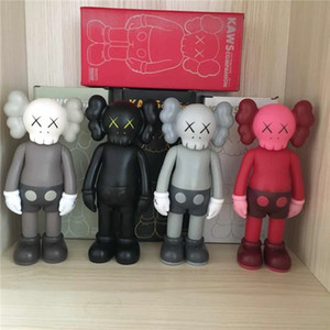 HOT 20CM 0.3KG Originalfake KAWS Companion 8inches Original Kasten Action-Figur Modell Dekorationen Spielzeug Kinder Geschenk