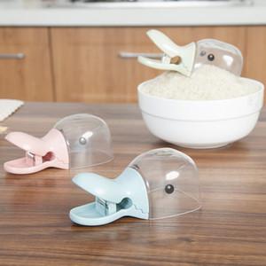Originalidade Duck Head Modeling Colher De Arroz Espessamento Farinha De Plástico De Plástico Pá Multifuncional Food Clamp Braçadeira 3 45jy k1