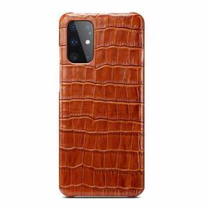 Per il caso di Samsung S11 2019 Sticker copertura di lusso sottile variopinta di vera pelle originale Case per Samsung Galaxy S11