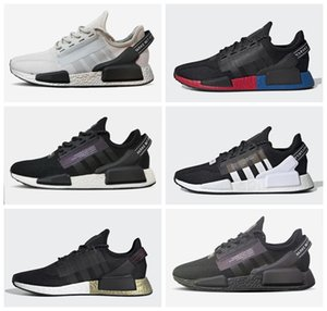 2020 runner NMD R1 V2 Metallic Gold black men women Running Shoes Sports nmds XR1 Mens Shoes m